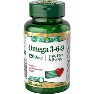Omega 3-6-9 1200mg x 60cps - NB