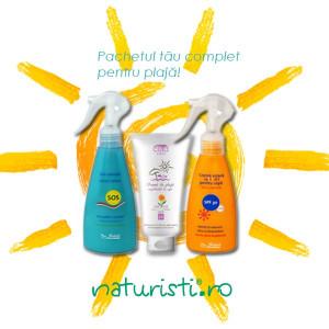 Pachet promotional pentru plaja