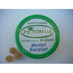 Pastile gumate cu mentol si eucalipt - 50 g