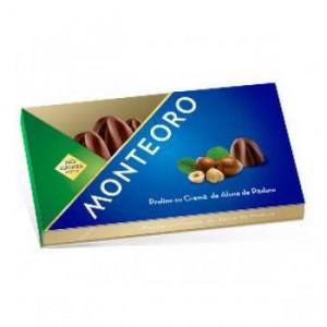 Praline Monteoro cu crema de alune de padure - 120 g