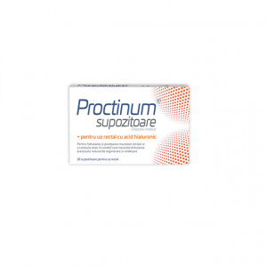 Proctinum supozitoare -10 buc
