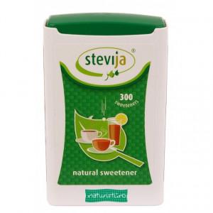 Stevia tablete - 300 buc. - 18 gr. (0.06 gr./cps)