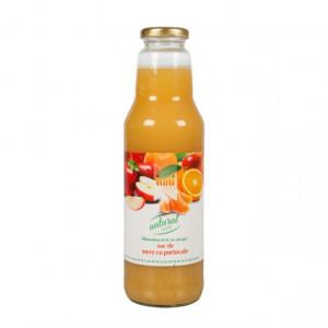 Suc natural de mere + portocale - 750 ml