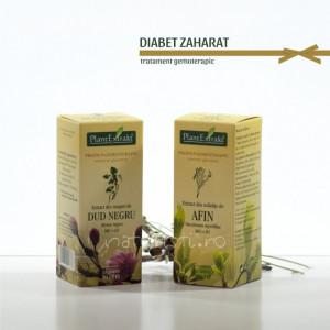 Tratament naturist - Diabet zaharat (pachet)