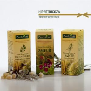 Tratament naturist - Hipertricoza (pachet)