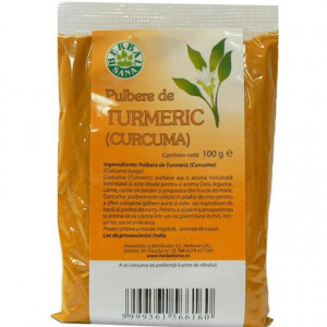Turmeric pulbere - 100 g Herbavit