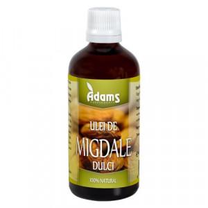 Ulei de migdale dulci presat la rece - 100 ml Adams Vision
