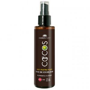 Ulei pentru plaja, ulei de cocos bio SPF 6 - 150 ml