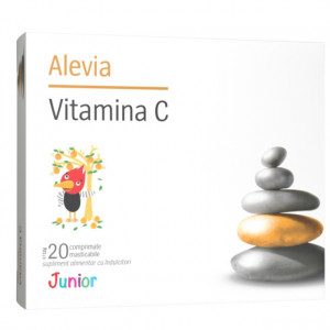 Vitamina C 100 mg Junior - 20 cpr