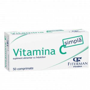 Vitamina C simpla 180 mg - 50 cpr
