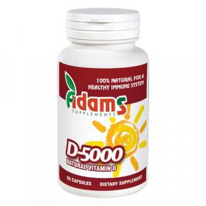 Vitamina D-5000 - 60 cpr