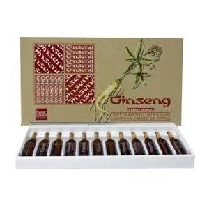 Lotiune Ginseng pentru par - 12 fiole