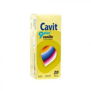 Cavit 9 Plus vanilie - 20 cpr