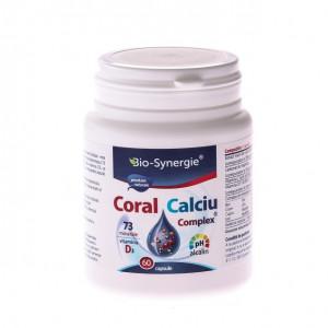 Calciu Coral Complex - 60 cps
