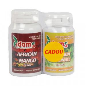Pachet African Mango - 60 cps + Chromium Picolinate - 90 cps Gratis