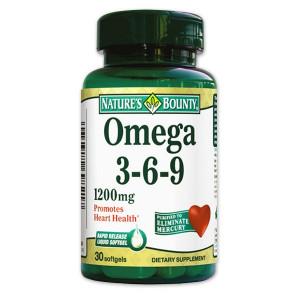 Omega 3-6-9 1200mg x 30cps - NB