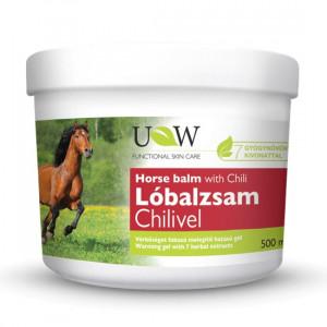 Balsam Puterea Calului cu Chili - 500 ml Herbavit