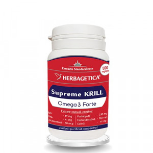 Supreme Krill Omega 3 Forte - 30 cps