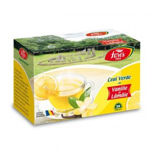Ceai Verde cu Lamaie si Vanilie - 20 pl Fares