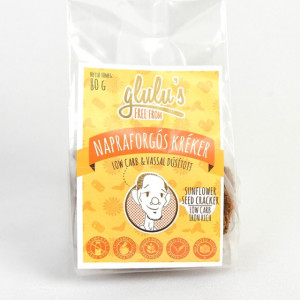 Cracker cu seminte de floarea soarelui fara gluten cu CH scazut - 80 gr