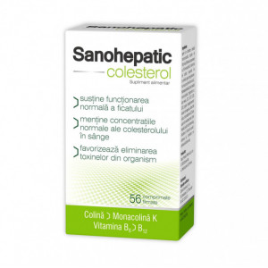 Sanohepatic Colesterol - 56 cpr
