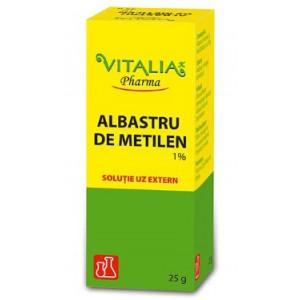 Albastru de metilen 1% 25g - Vitalia Pharma