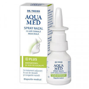 Aquamed spray nazal ulei de eucalipt - 20 ml
