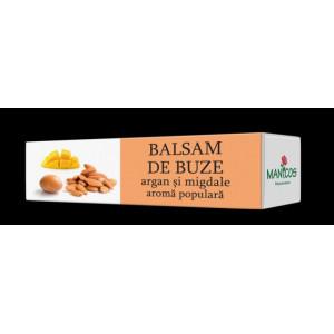 Balsam de buze cu ulei de argan, migdale dulci si aroma populara - 4.8g