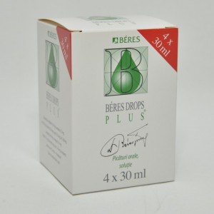 Beres Drops Plus x 4flac. x 30ml