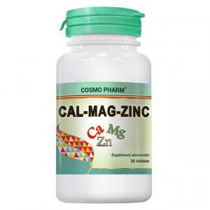 Cal-Mag-Zinc - 30 cpr
