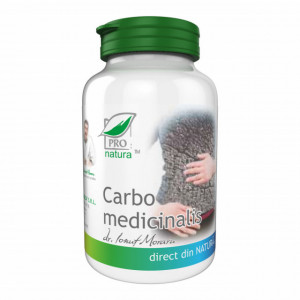 Carbo Medicinalis - 60 cps