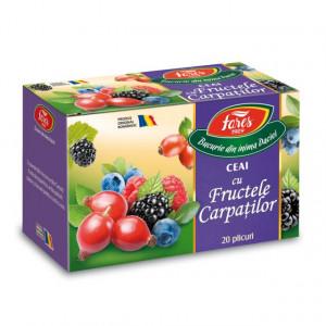 Ceai cu fructele Carpatilor - 20 dz Fares