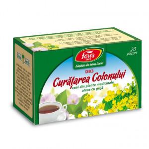 Ceai Curatarea Colonului D83 - 20 pl Fares