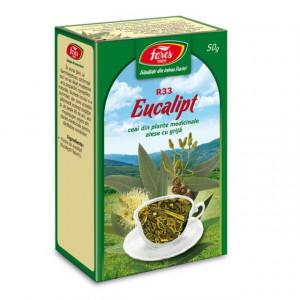 Ceai Eucalipt - Frunze R33 - 50 gr Fares
