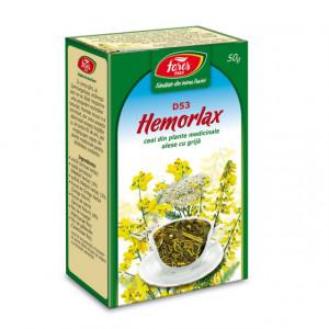 Ceai Hemorlax D53 - 50 gr Fares