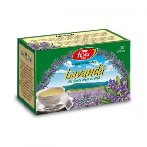 Ceai Lavanda - 20 pl Fares