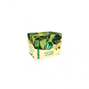 Ceai verde cu lamaie - 20 dz cu snur Larix