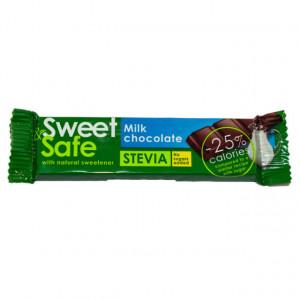Ciocolata cu lapte Sweet&Safe - 25 g