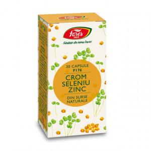 Crom Seleniu Zinc - 30 cps Fares