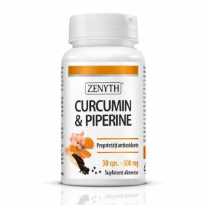 Curcumin & Piperine - 30 cps