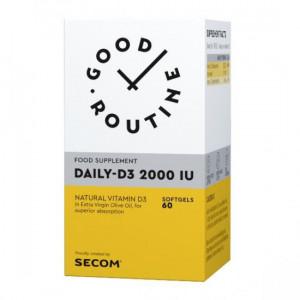 Daily D3 2000IU - 60 cps moi
