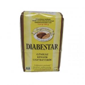 Diabestar Mix pentru paine cu seminte diabetic Géniusz - 1 kg