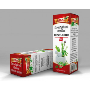 Extract Gliceric Stimulent Hepato - Biliar - 50 ml