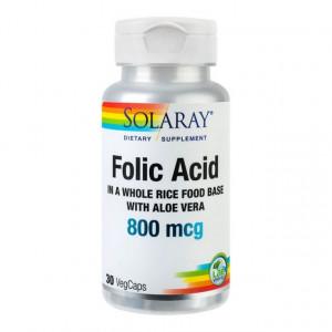 Folic Acid 800mcg - 30 capsule vegetale