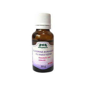 Glicerina Boraxata cu Anestezina - 20 g