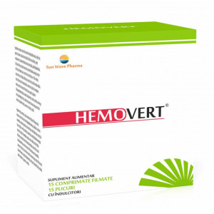 Hemovert - 15 cpr/15 plicuri