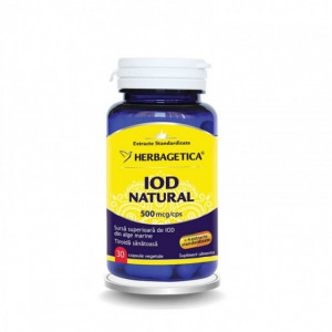 Iod natural - 30 cps
