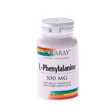 L-Phenylalanine 500mg - 60 cps