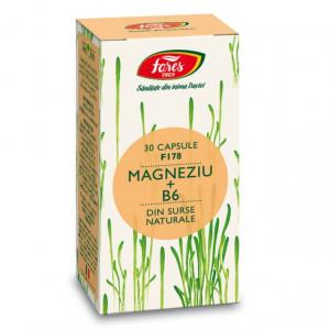 Magneziu + B6, F178 - 30 cps Fares