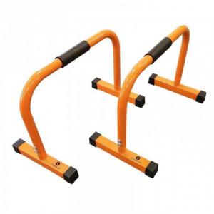 Mini bare paralele, 45 cm, portocaliu, SVELTUS